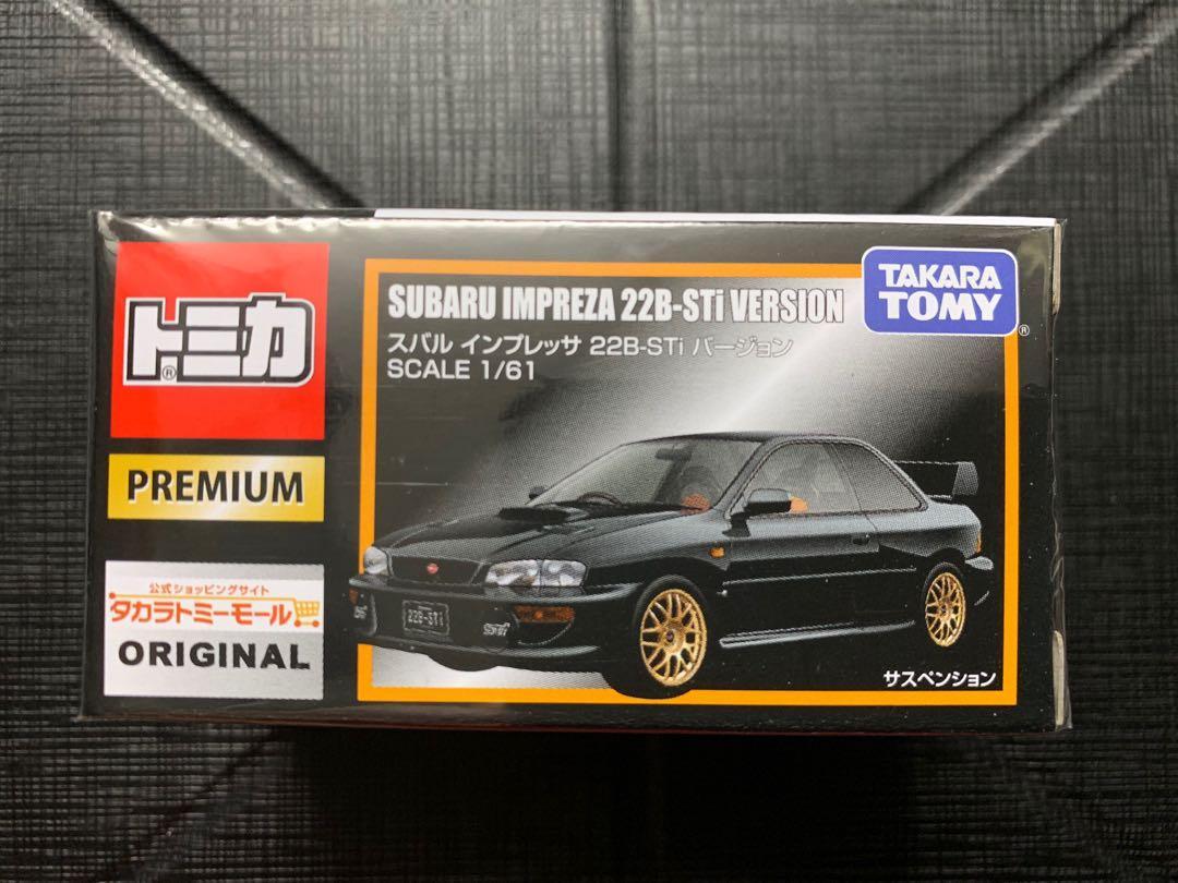 購自日本🇯🇵✈️ 限定版 Tomica Subaru Impreza 22B-STi Version