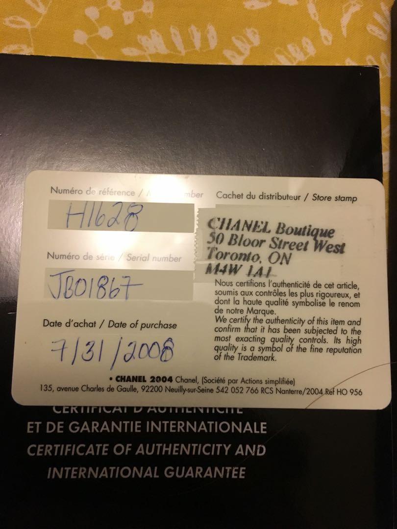 Auth Chanel J12 Ceramic Diamond Dail 33mm full set