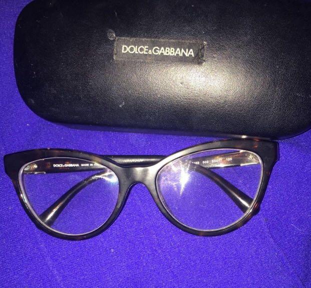 Authentic Dolce & Gabbana Glasses in excellent condition (bought for 600$)