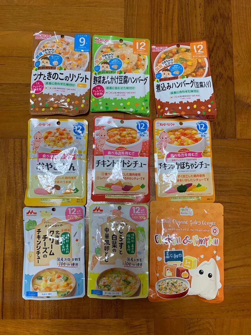 Babyfood 日本即食包 森永 和光堂 寶寶百味