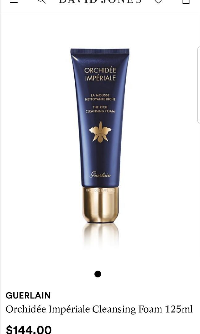 Brand new Guerlain Orchidee Imperiale The Rich Cleansing Foam 30ml