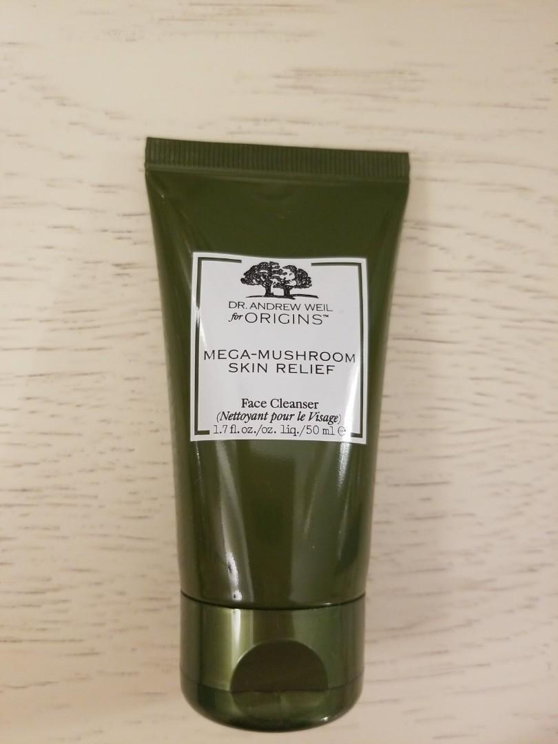 Brand new Origins Mega-Mushroom Skin Relief face cleanser 50ml