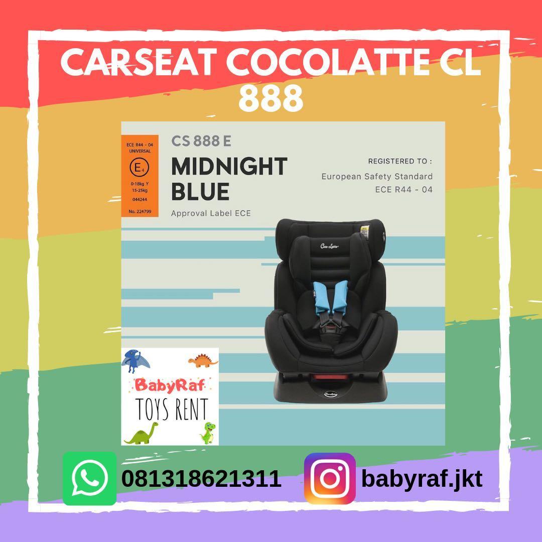 DISEWAKAN carseat cocolatte