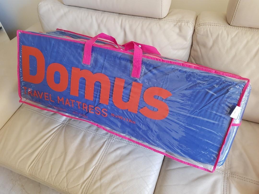 Domus Foldable Travel Mattress Single