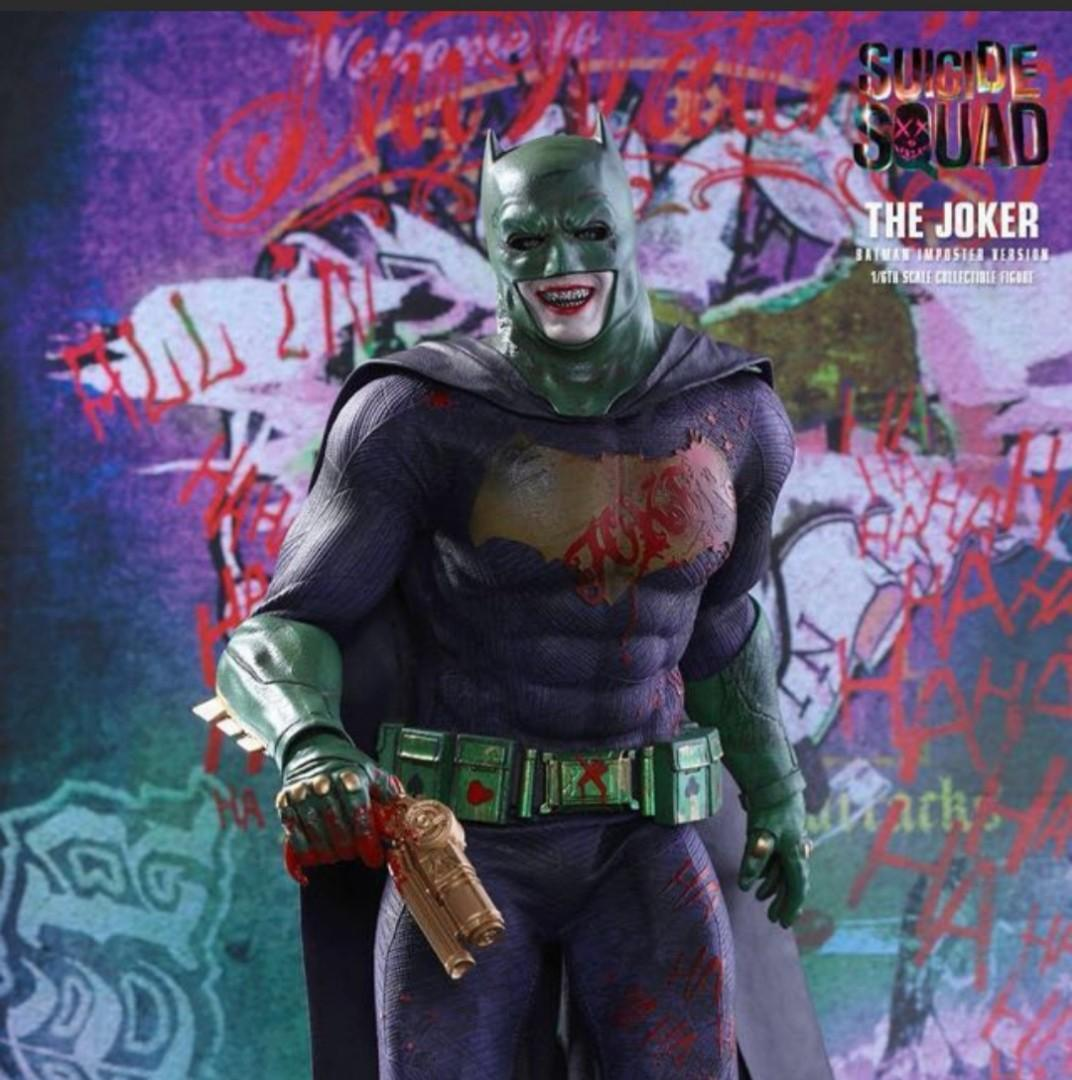 """Hot Toys Exclusive 限定MMS384DX12"""" SUICIDE SQUAD THE JOKER ( BATMAN IMPOSTER VER )"""