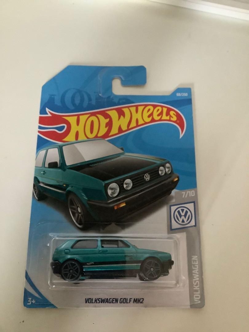 Hot wheels 1017 Volkswagen Golf MK2 collectible diecast car
