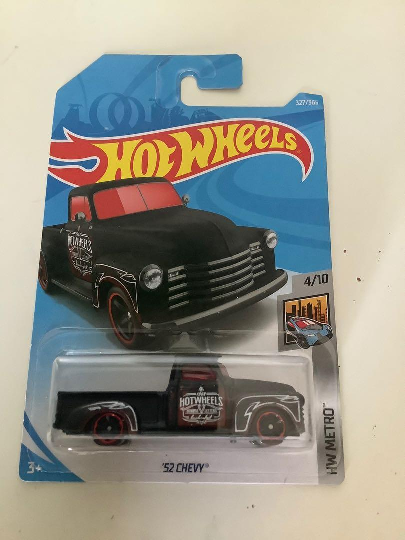 Hot wheels 1952 Chevrolet Chevy truck collectible diecast car