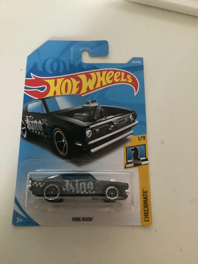 Hot wheels 2017 Plymouth barracuda king kuda collectible diecast car