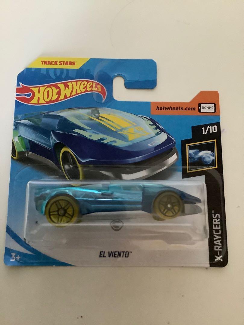 Hot wheels 2017 TREASURE HUNT el viento short card rare collectible diecast car