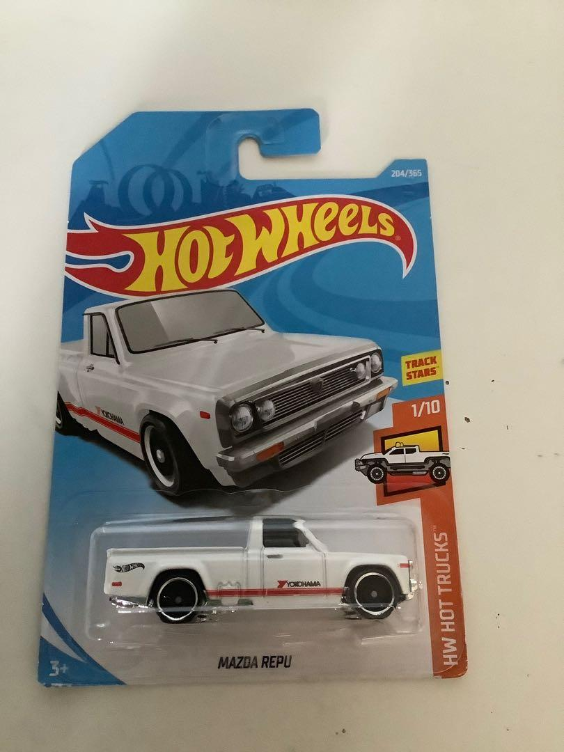 Hot wheels 2917 Mazda repu WHITE VARIATION collectible diecast truck