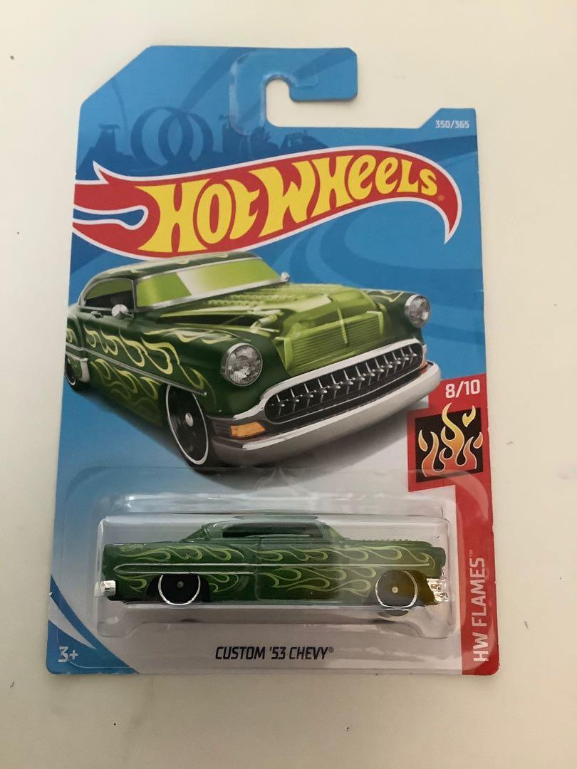 Hot wheels custom 1953 Chevrolet Chevy collectible diecast car