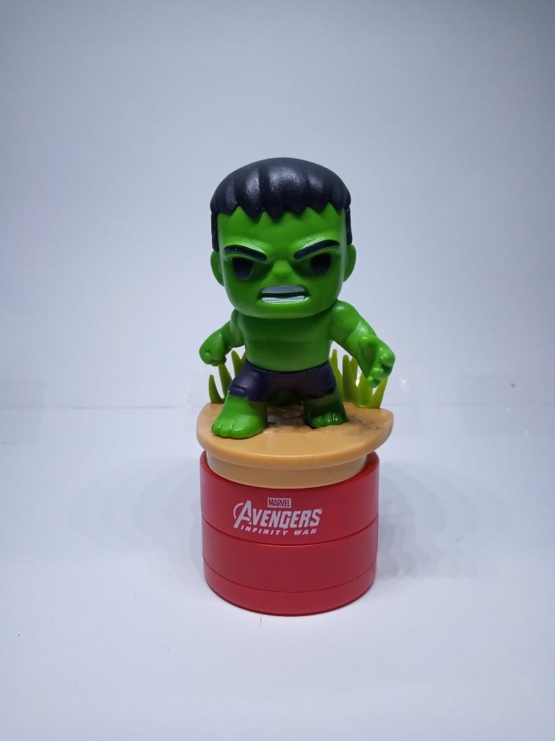 hulk tesco avenger stamped