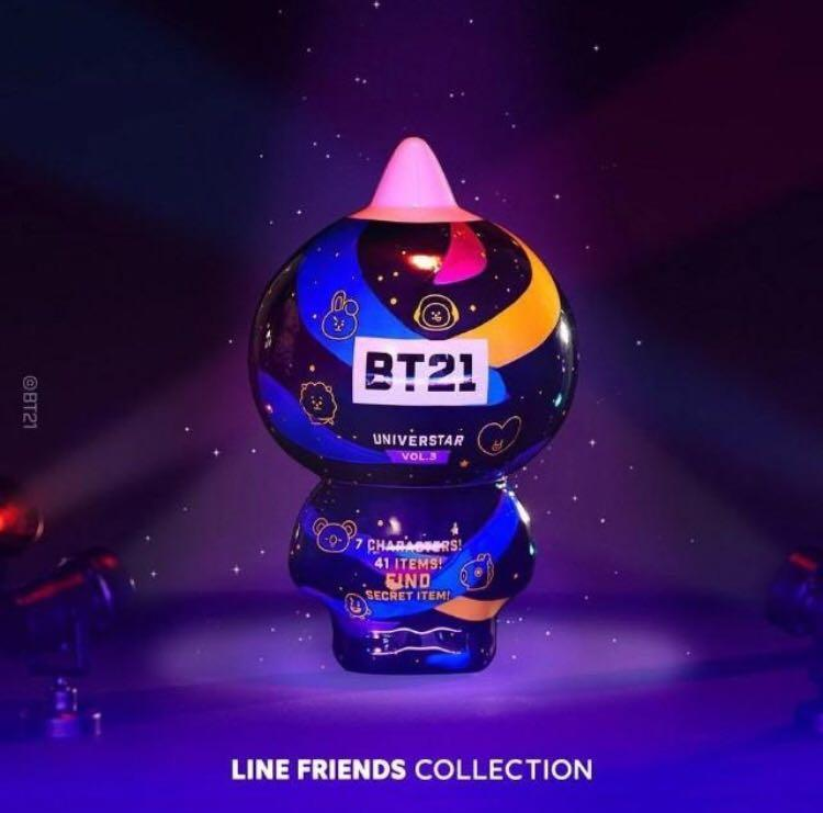 [Korea Purchasing Service]  BTS BT21 Universtar (Line Friends Collection)