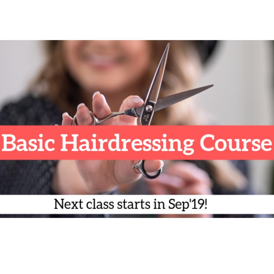 Learn a skill in hairdressing!