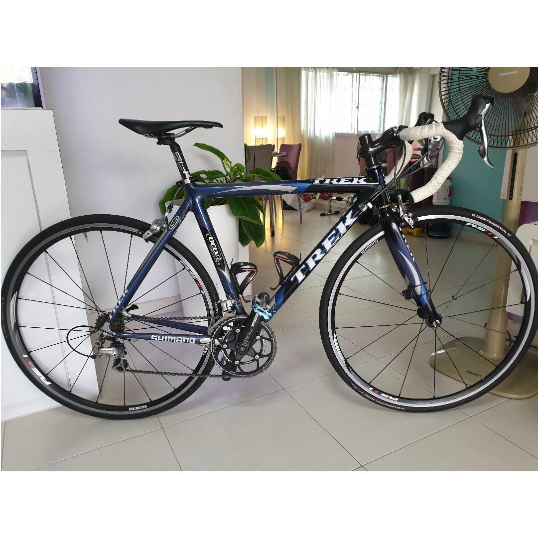 Limited edition Trek Madone SSL OCLV 55 full carbon Road Bike, no wheelset (Lance Armstrong's Tour De France bike, Size 52)
