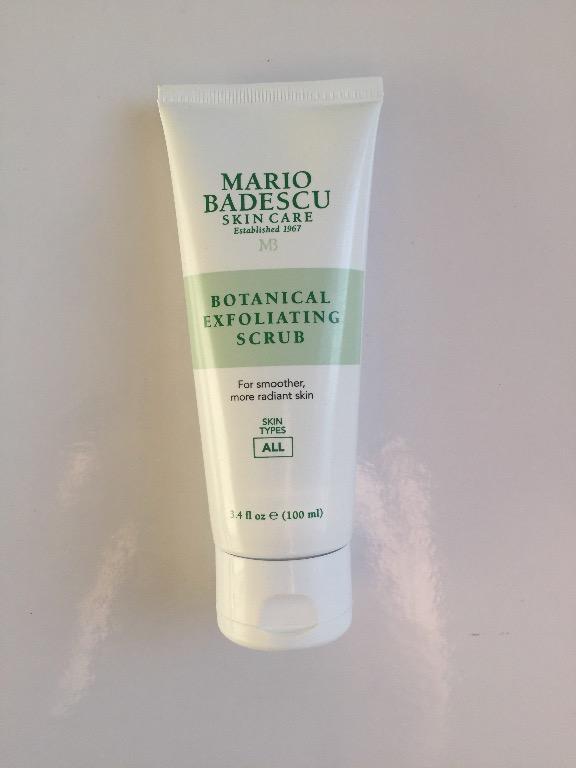 PRICE REDUCED Mario Badescu Botanical Facial Exfoliating Scrub