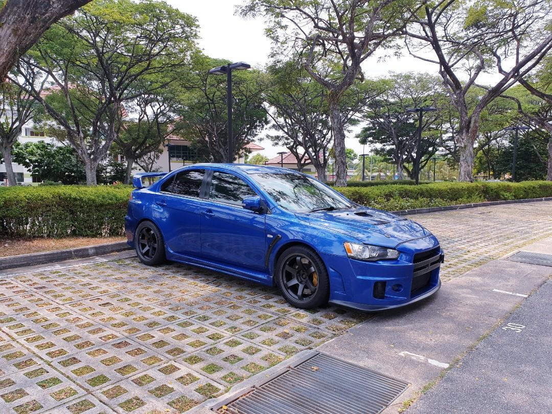 Mitsubishi Lancer Evolution X GSR Premium Package Manual