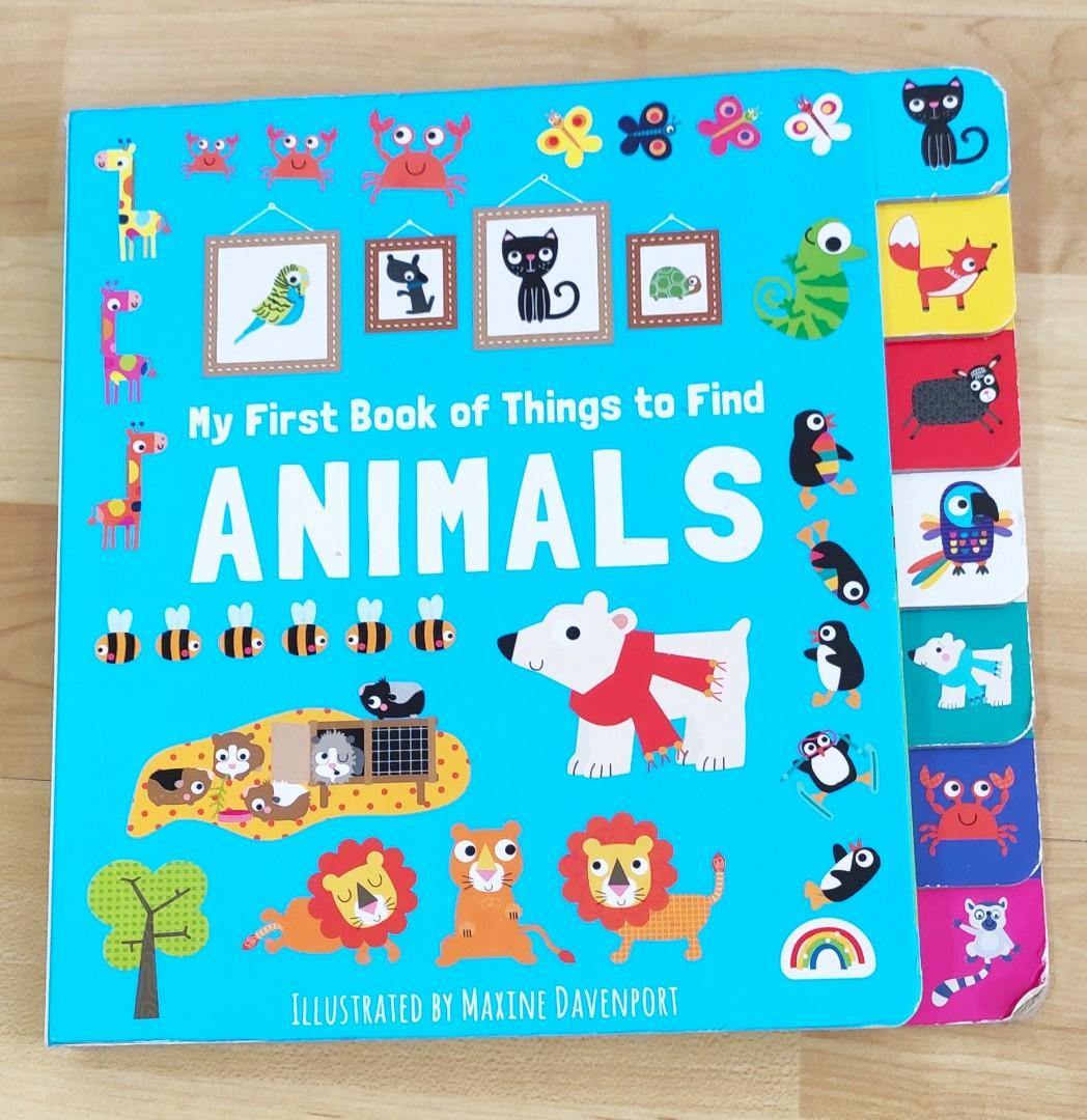 My First Book of Things to Find-Animals