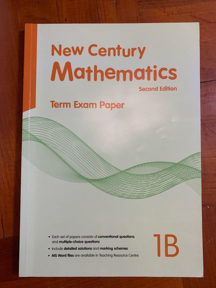New Century Mathematics Second Edition Term Exam Paper 1B