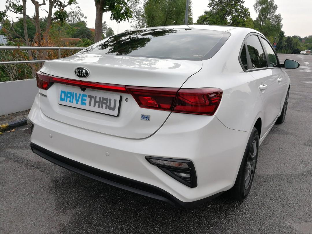 New Kia Cerato for rental