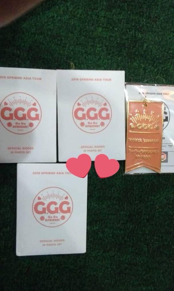 [NFS/ITEM ARRIVAL] Go Go Gfriend Official Merch [200619] BATCH 3