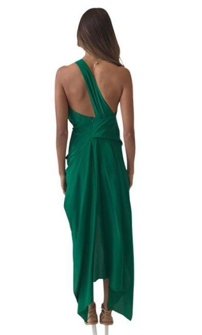 One fell swoop - Philly Dress Fern Green