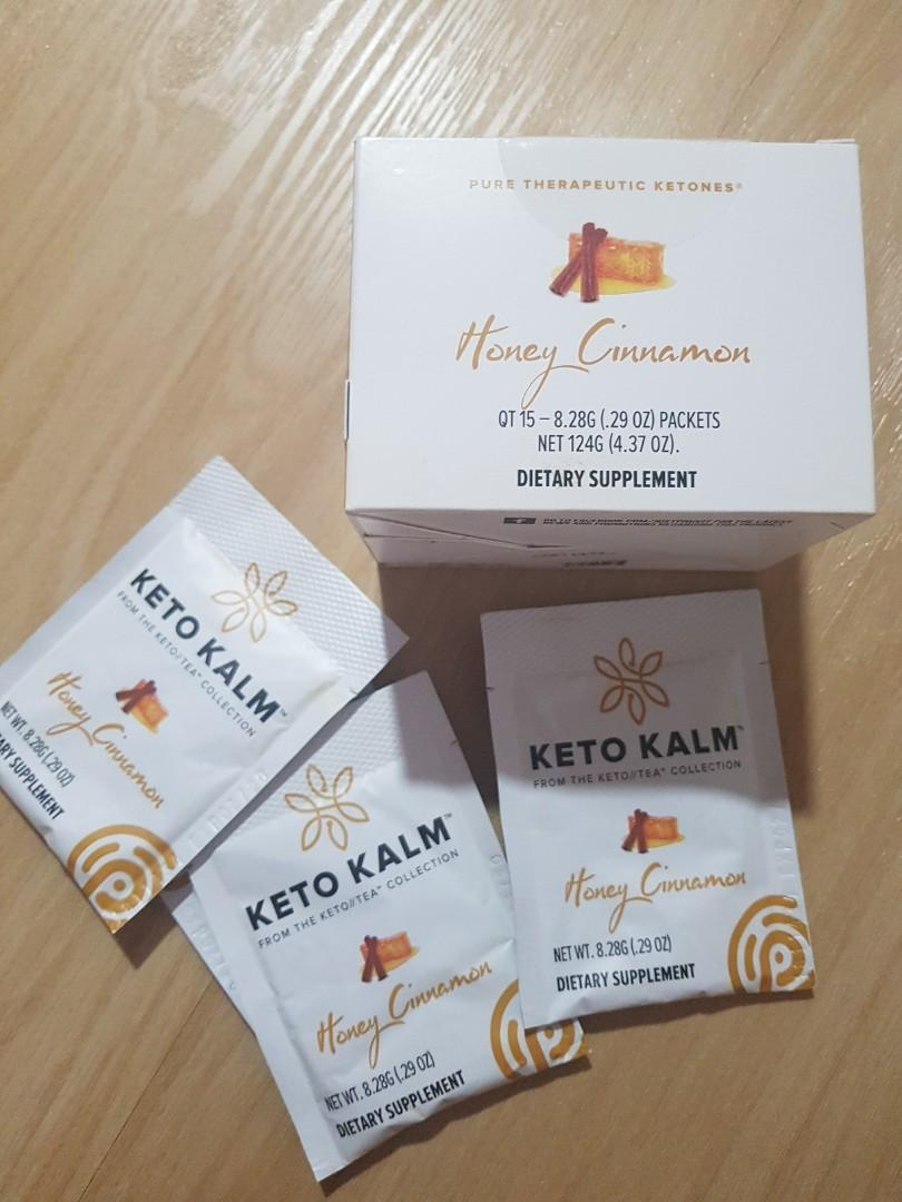 Pruvit keto kalm tea honey cinnamon