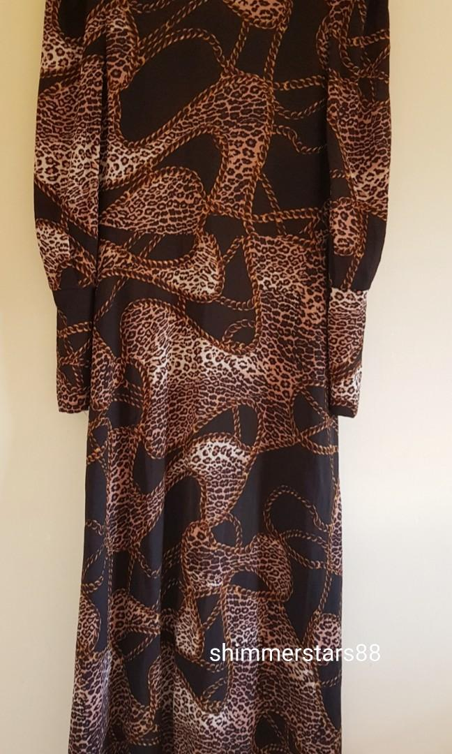 Seed Heritage V back chain print Dress, RRP$169.95
