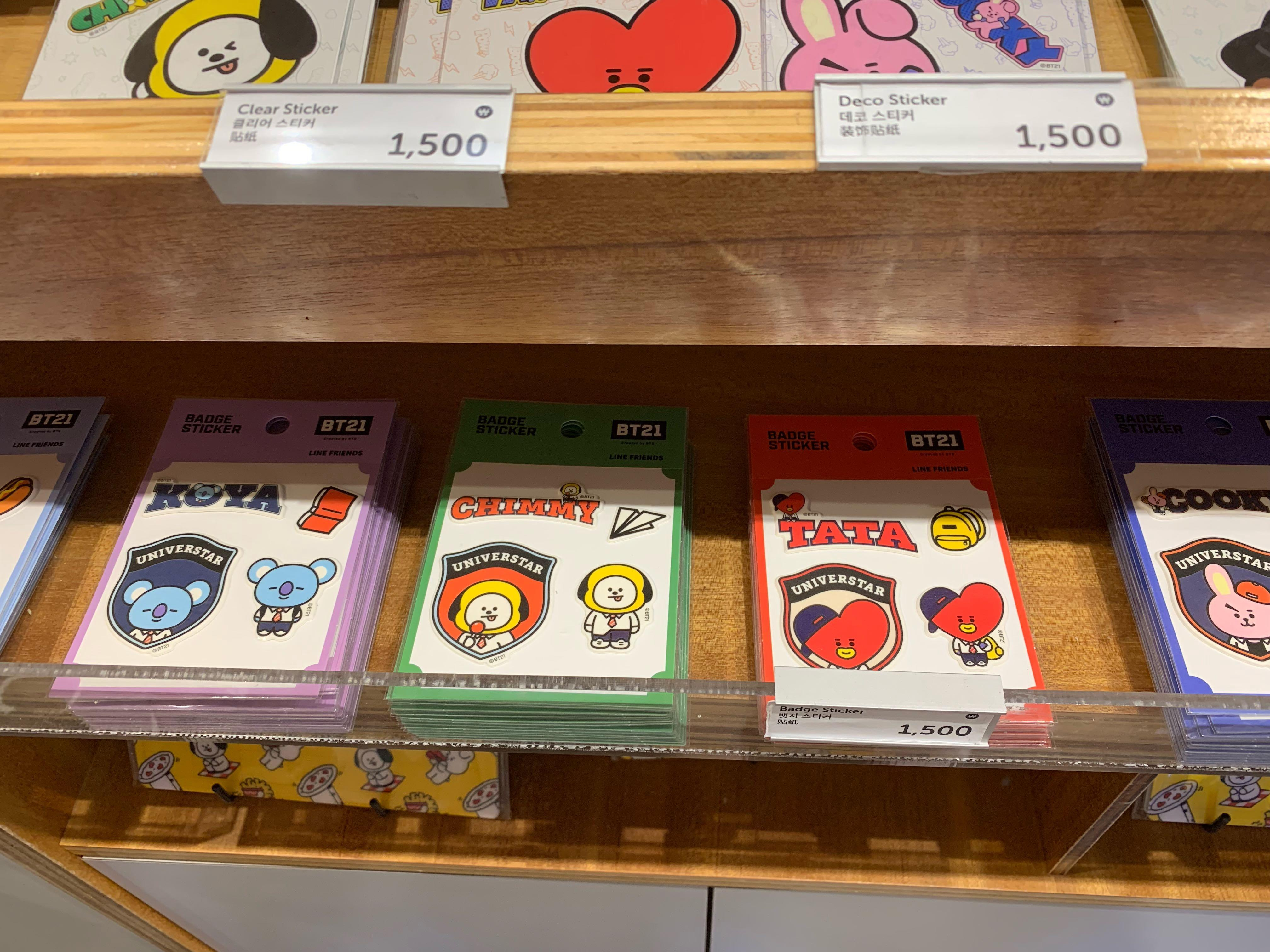 SEOUL purchasing service - BT21 & Line & other stuff
