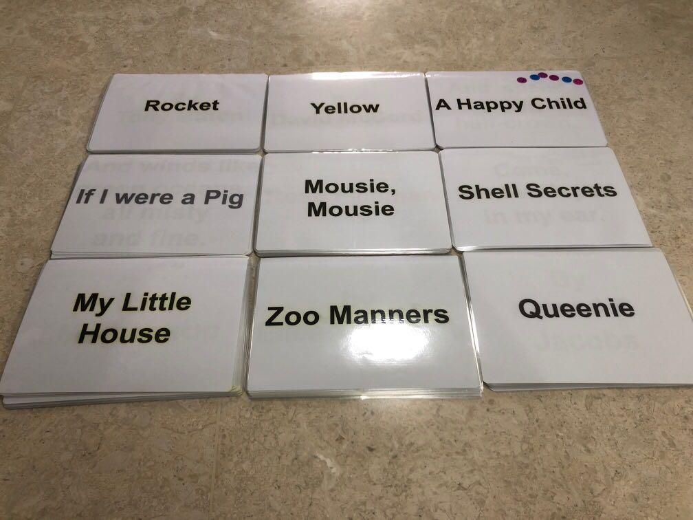 Shichida Poem Flash Cards, Books & Stationery, Children's Books On