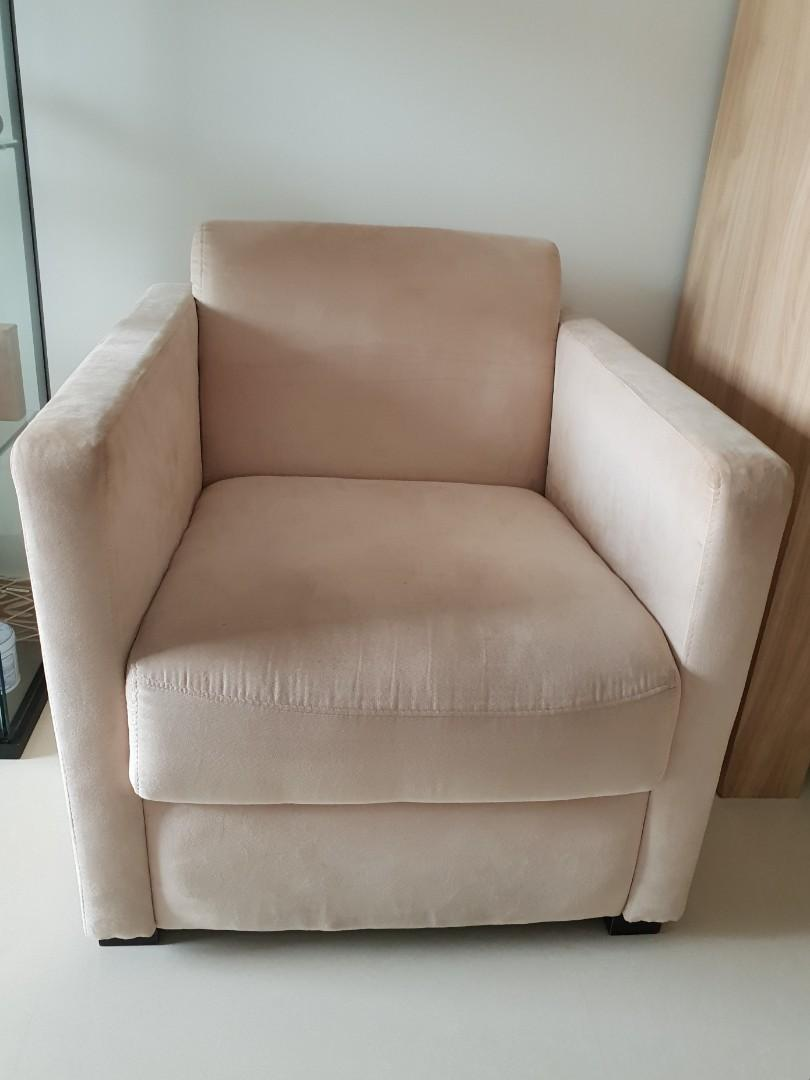 Swell Single Seater Sofa Furniture Sofas On Carousell Pabps2019 Chair Design Images Pabps2019Com