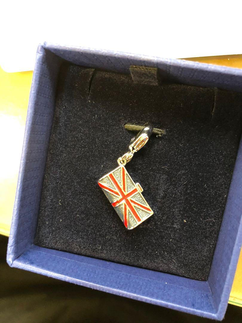 Swarovski 水晶 charm 飾物