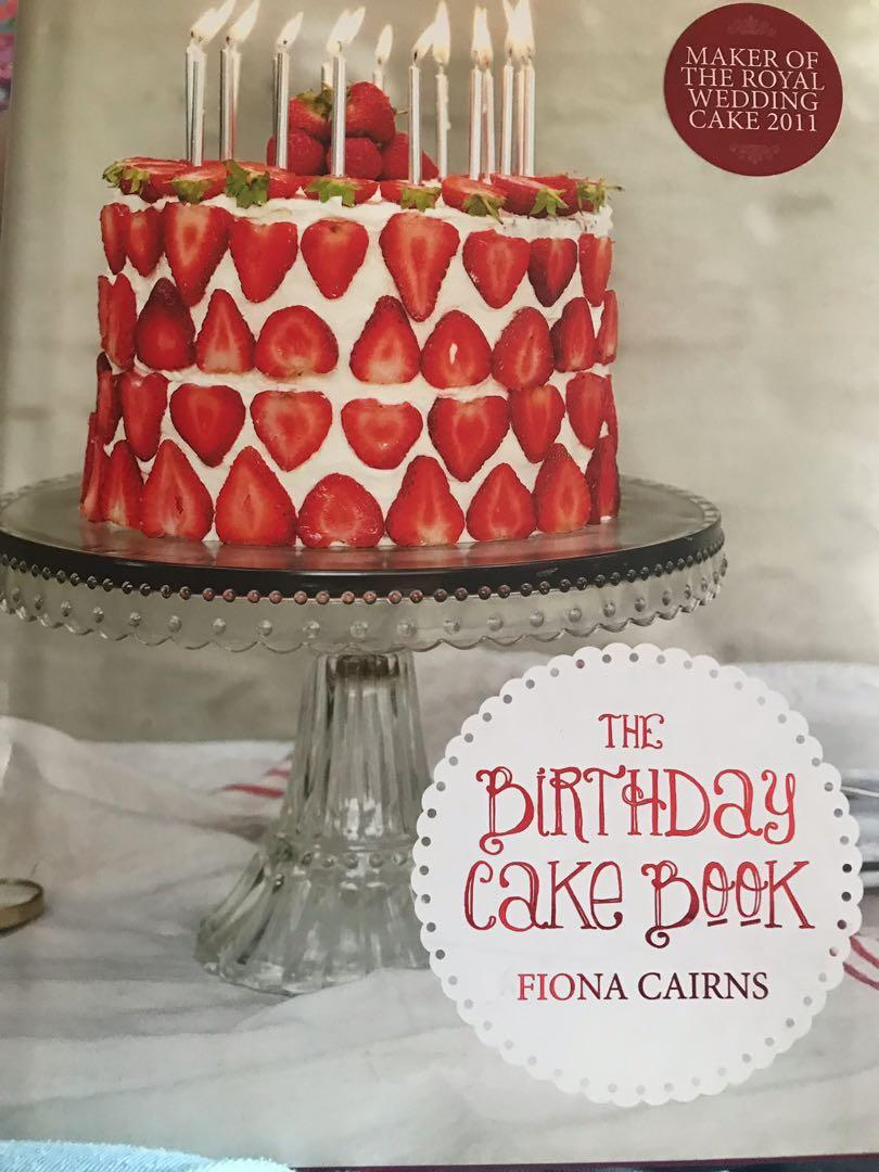 Awe Inspiring The Birthday Cake Book Books Stationery Non Fiction On Carousell Funny Birthday Cards Online Inifofree Goldxyz
