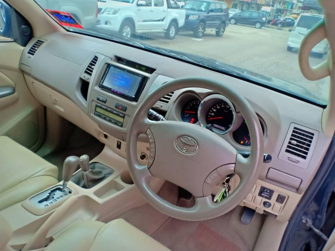 TOYOTA FORTUNER 2.7AT V PETROL 4×4TipTop 2007TH 7Seater Suv🎉Cash💰Offer Price💲Rm38,800 Only‼LowestPrice InJB‼Call📲 Keong For More🤗