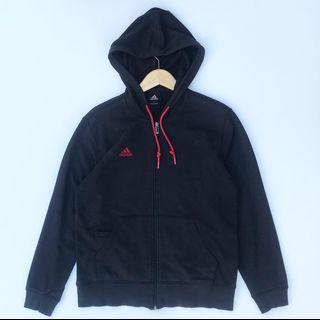Zip Hoodie Adidas  Hitam