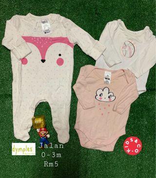 Baby Girl set 0-3M