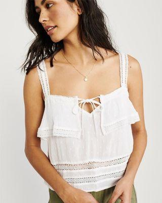 Abercrombie & Fitch Lace Cami