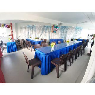 [Rent] Tables and Chairs Rent Rental Cheap Deliver Setup Event Function Wedding Birthday Party Flee Market Roadshow Kenduri Buffet BBQ Barbecue Barbeque Rental Open House Celebration 32