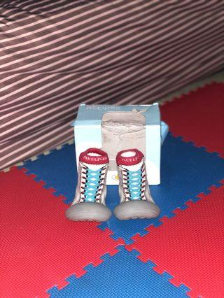 Attipas pre walker new sneakers red  size M| sepatu bayi | baby shoes