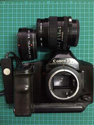 Canon T90 With Canon Nfd 50mm f1.4