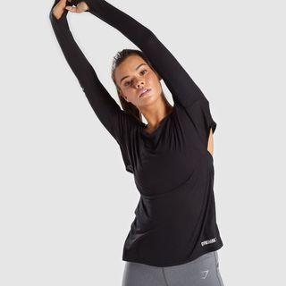 Gymshark Open cross back long sleeve