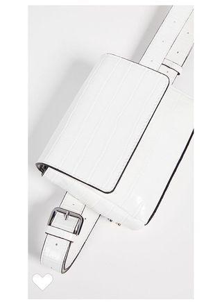 美國🇺🇸reTH腰包/鏈帶兩用包 白色/Shopbop購入