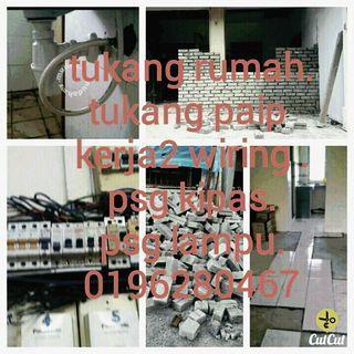 Tukang rumah dan plumbing 0196280467 kl