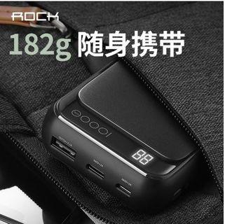 (Original)Rock Space P63 Mini Digital Display P.Bank10000mAh
