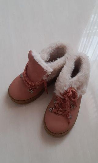 Zara German fur boots