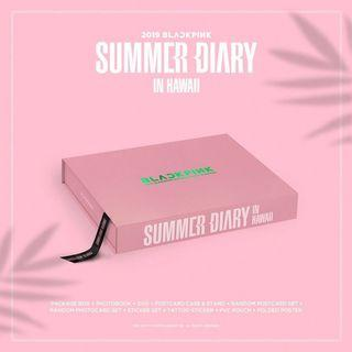 INC POSTAGE BLACKPINK SUMMER DIARY