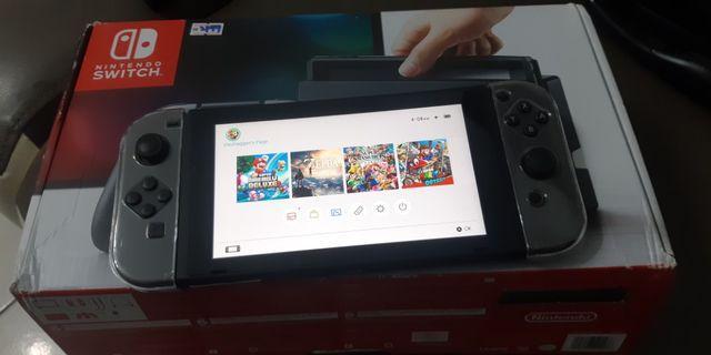 Nintendo Switch Grey Jailbreak