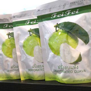 Feifei Dehydrated Guava 200g ❤️ PRODUCT OF THAILAND