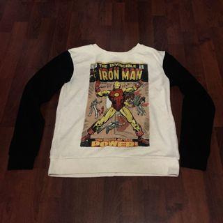 H&M Marvel Iron Man Cool Comic Sweater (Unisex)