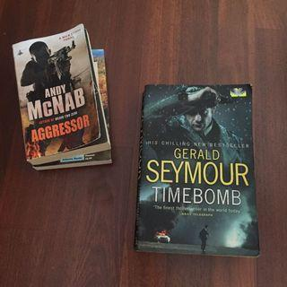 TIMEBOMB by Gerald Seymour (His Chilling New Bestseller)
